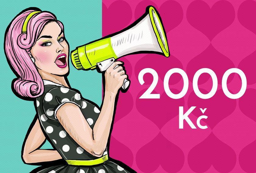 Doporučte a získejte 2000 Kč