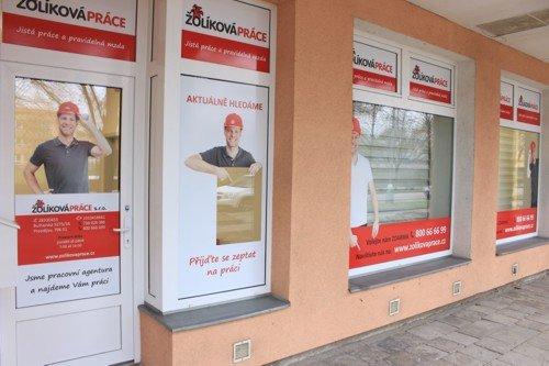 Nové kanceláře Žolíková práce - Bulharská Prostějov