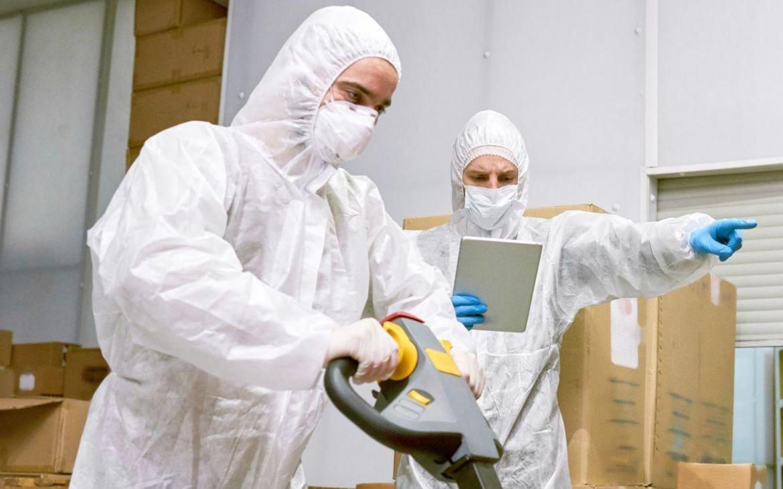 Manipulant superčistého pracoviště