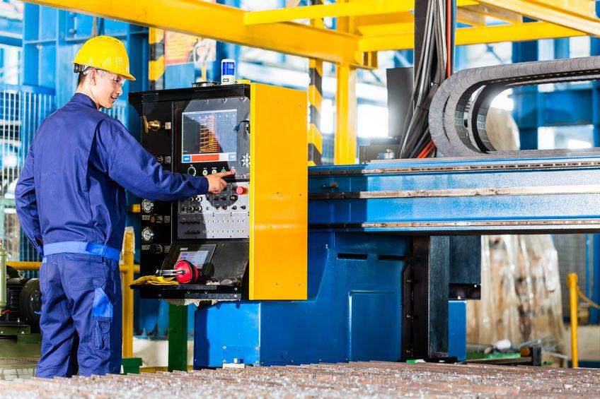 Obsluha stroje a kontrola výroby