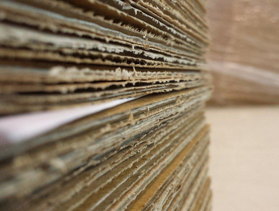 Skládání papírových stojanů pro muže i ženy